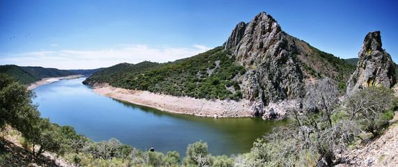 Meander of Tajo river