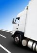 Transporte de mercancia en camion y carretera