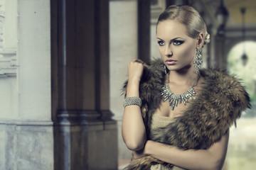 luxury fashion girl
