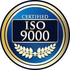 ISO 9000:2005 Label