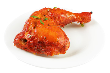 tandoori chicken leg