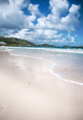 Orient Beach on St. Maarten Carribean Island