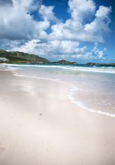 Orient Beach on St. Maarten Carribean Island