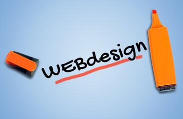 Webdesign word