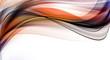 Zdjęcia na płótnie, fototapety, obrazy : Abstract grunge orange waves on white background