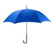 canvas print picture - Blue Umbrella