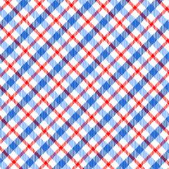 Muster Karo blau rot  #140115-svg05