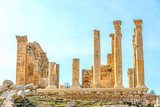 The Naos of Zeus in Jerash, Jordan.