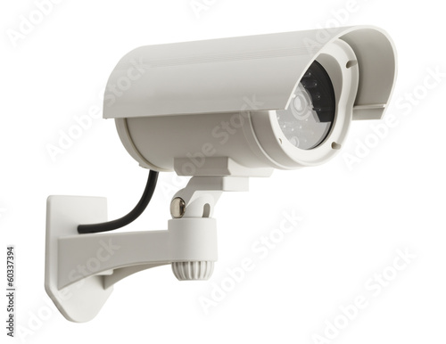 Leinwanddruck Bild Security Camera