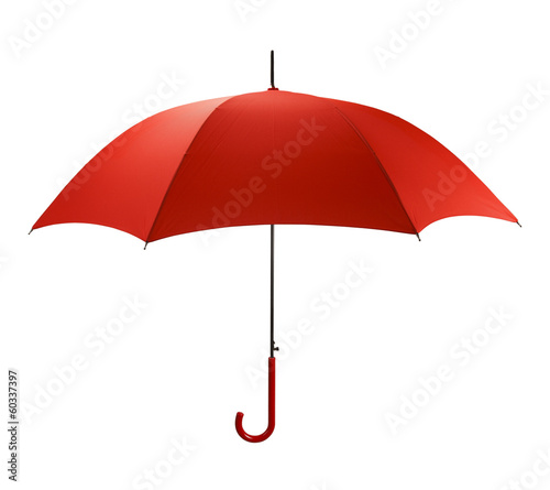Leinwanddruck Bild Red Umbrella