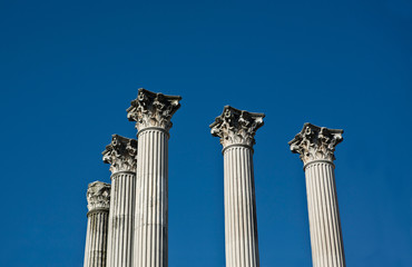 Columns in the sky