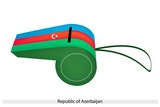 Blue, Red and Green Whistle of Azerbaijan