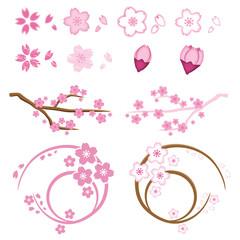 桜 素材 セット