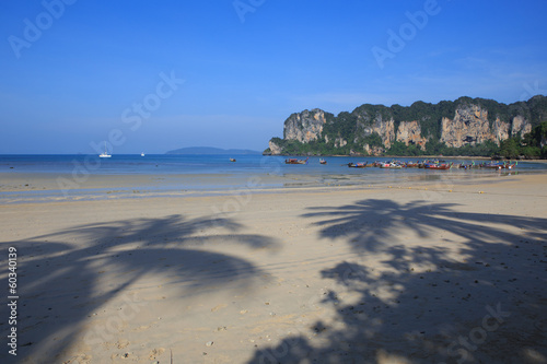 Railay Beach in Krabi province, Thailand.