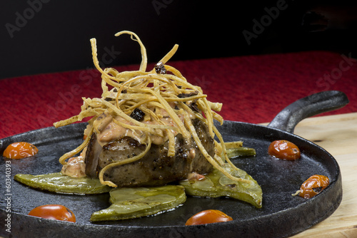 Filete de Res con Nopales