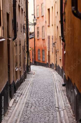 street in the Stockholm