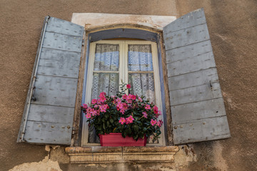Old window of Provence