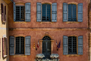 Provence and their old village windows