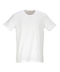 White T-Shirt /clipping path