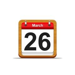 26 de marzo.