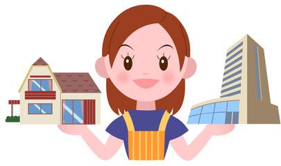 一戸建てマンション比較する主婦
