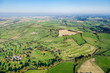 Wide Angle,  Aerial View of British Countryside