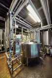 Brewery equipment in microbrewery