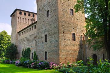 Castle of Castelguelfo. Noceto. Emilia-Romagna. Italy.