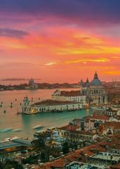 View of Basilica di Santa Maria della Salute,Venice, Italy