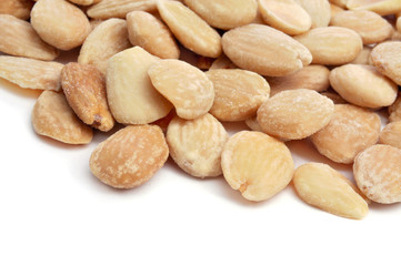 roasted and salted shelled almonds