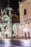 St. Marks Cathedral and square in Venice, Italy