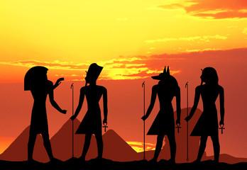 hieroglyphics silhouette