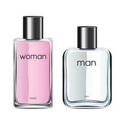 Flacons de parfum femme homme