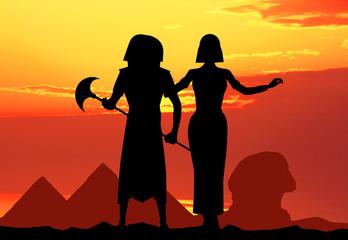 Cleopatra e Faraone