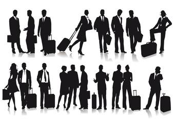 Passagiere und Reisende