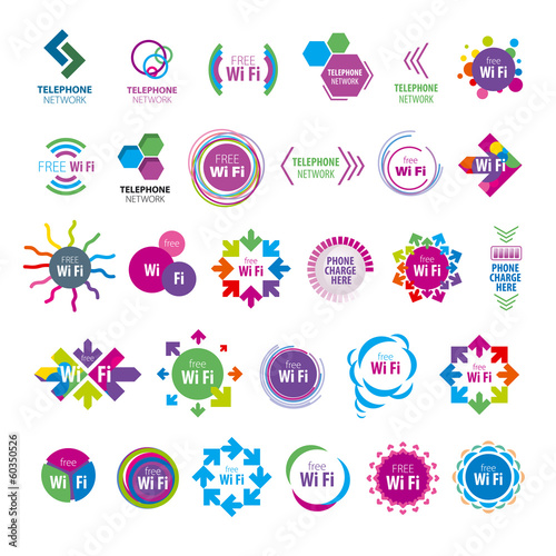biggest collection of vector logos Wi fi