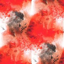 image de la palette graphique de cadre noir texture seamless style, rouge