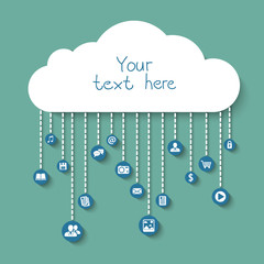 Social and business in the cloud