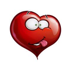 Heart Faces Happy Emoticons - I Really Like You
