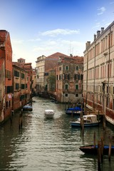 Lovely canals and bridges in Venice