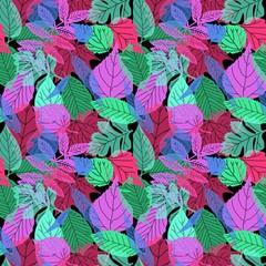 fluorescent leaves