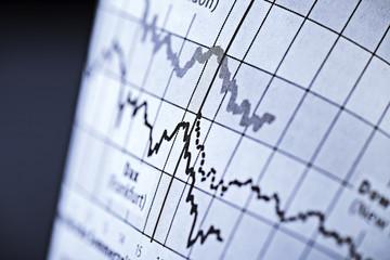 Kursentwicklung an den Börsen
