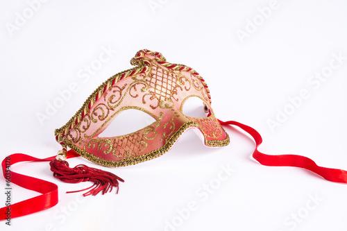 Foto op Plexiglas Venetie Maschera di carnevale veneziana