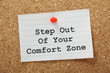 Постер, плакат: Step Out Of Your Comfort Zone