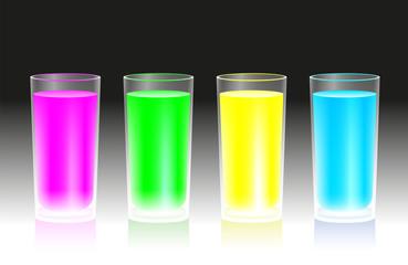 Fluorescent Beverages