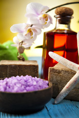 Spa, organic products