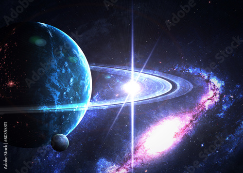 Fototapeta Space background
