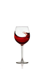 Red Wine in Glas