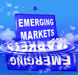 emerging markets sea clouds waves