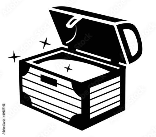 Treasure chest icon - 60357143